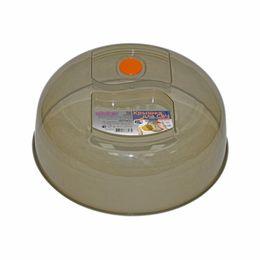 Крышка для СВЧ 26 см с клапаном (дымчатый)