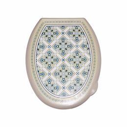 Сиденье для унитаза с декором  «Мозаика»