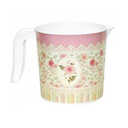 Кружка 1л с декором «Чайная роза»