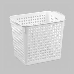 Корзинка «Лофт» 2,8л 200х135х165мм, цвет белый