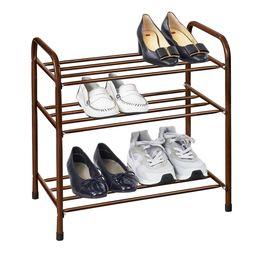 Этажерка для обуви, цвет коричневый
