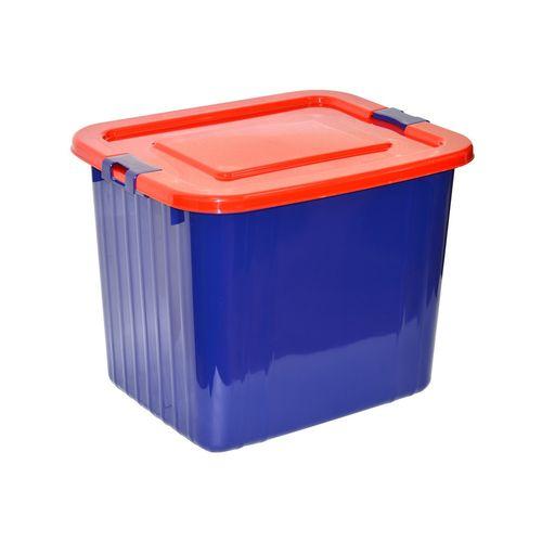 Ящик для хранения 60л, цвет синий