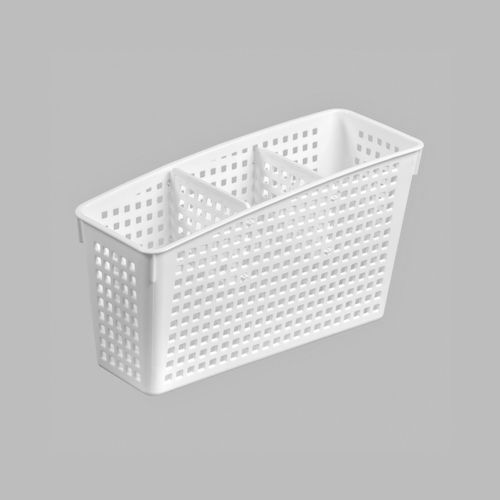 Органайзер «Лофт» с перегородками 245х95х140 мм, цвет белый