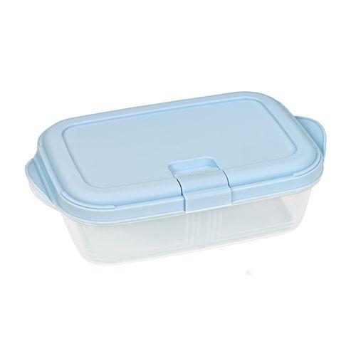 Контейнер для СВЧ Push 1,9л цвет голубой